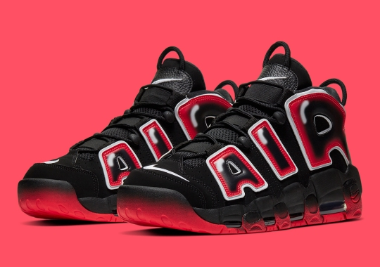 "The Nike Air More Uptempo ""Laser Crimson"" Releases On December 19th"