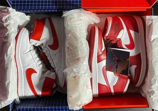 Michael Jordan's Nike Air Ship PE To Release Alongside Air Jordan 1 In Epic Two-Pair Package