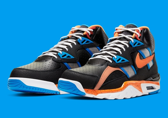The Nike Air Trainer SC High Returns In A New York Friendly Colorway