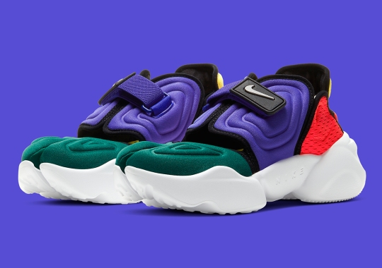 Nike's Aqua Rift Combines The Classic Model With Water-Ready Uppers