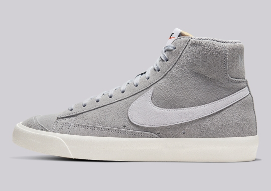 The Nike Blazer Mid '77 Vintage To Release In Wolf Grey Suede