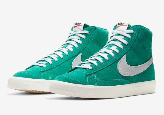 "Nike Blazer Mid Vintage '77 ""Nature Green"" Is Expected Soon"