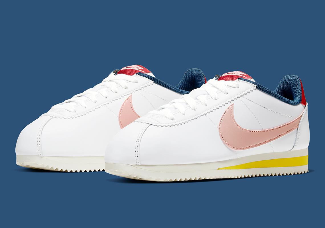 Nike Cortez White Pink 807471-114