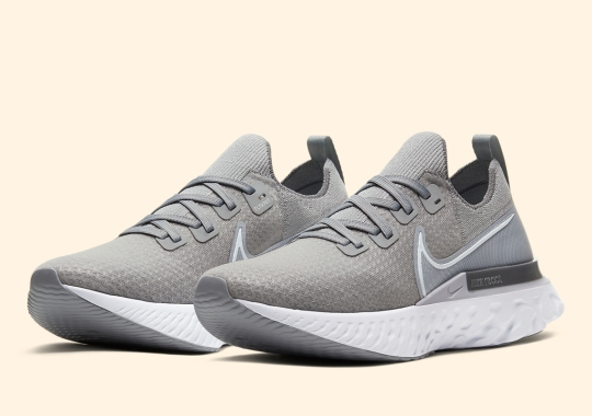Nike's Upcoming Infinity React Run Gets A Clean Grey Option