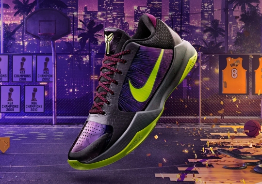 "Nike And NBA2K20 To Release An Alternate Kobe 5 Protro ""Chaos"" As A Gamer Exclusive"