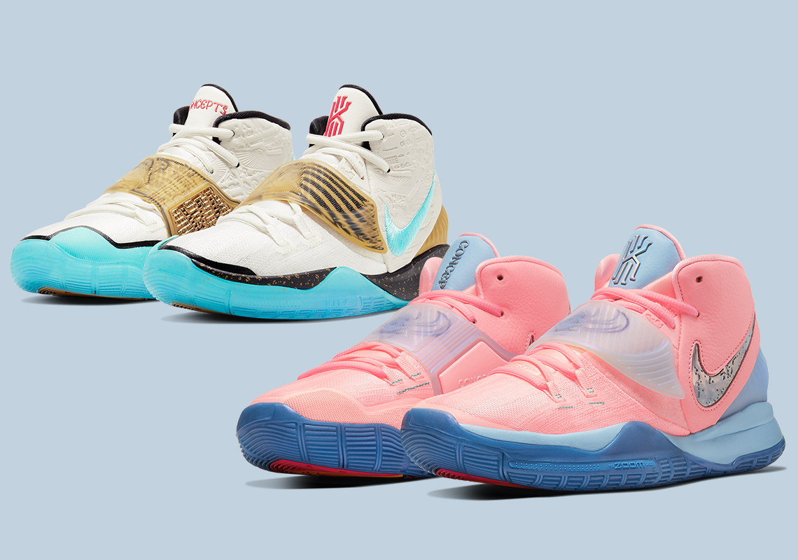 Concepts Nike Kyrie 6 Khepri Golden