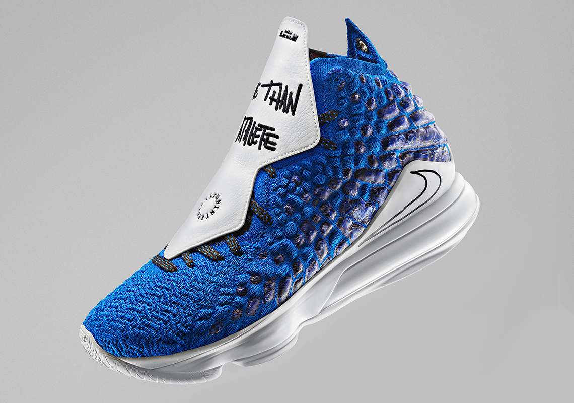 Lebron Christmas Shoes 2020 Nike Lebron 17 Uninterrupted More Than An Athlete CT3464 400