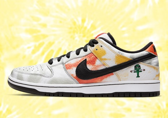 "Where To Buy The Nike SB Dunk Low ""Raygun"" In White"