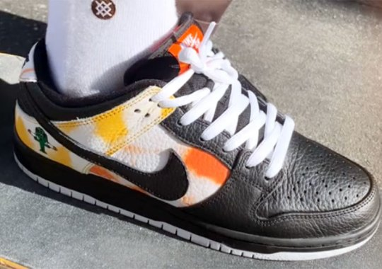 "Nike SB Dunk Low ""Raygun"" To Return With A Tie-Dye Twist In Honor Of Sandy Bodecker"