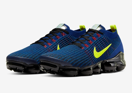 The Nike Vapormax Flyknit 3.0 Gets Deep Royal And Volt Updates