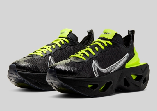 The Nike ZoomX Vista Grind Gets Sporty With Black And Volt