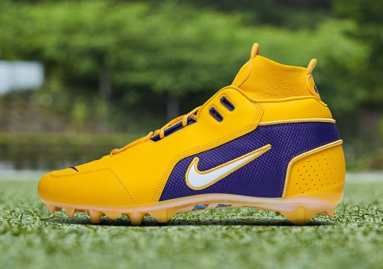 OBJ Honors LSU And The Lakers With Week 15 Nike Cleats