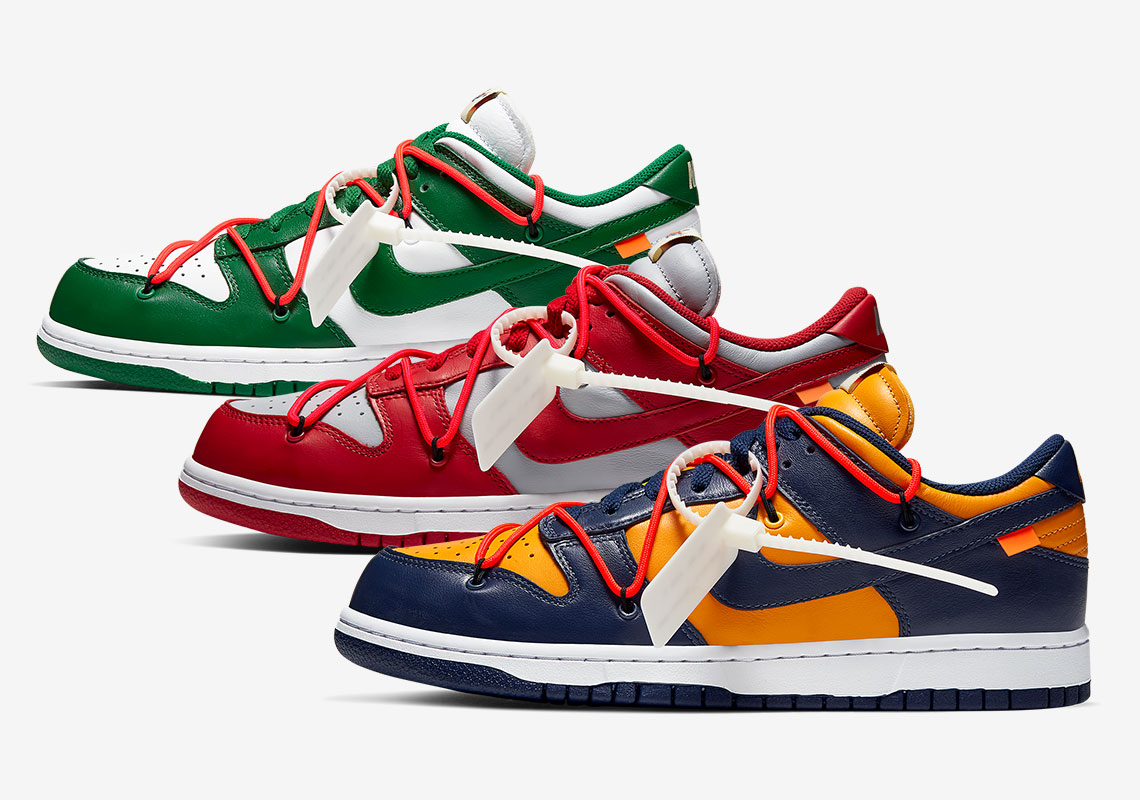 Off White Nike Dunk Release Date |