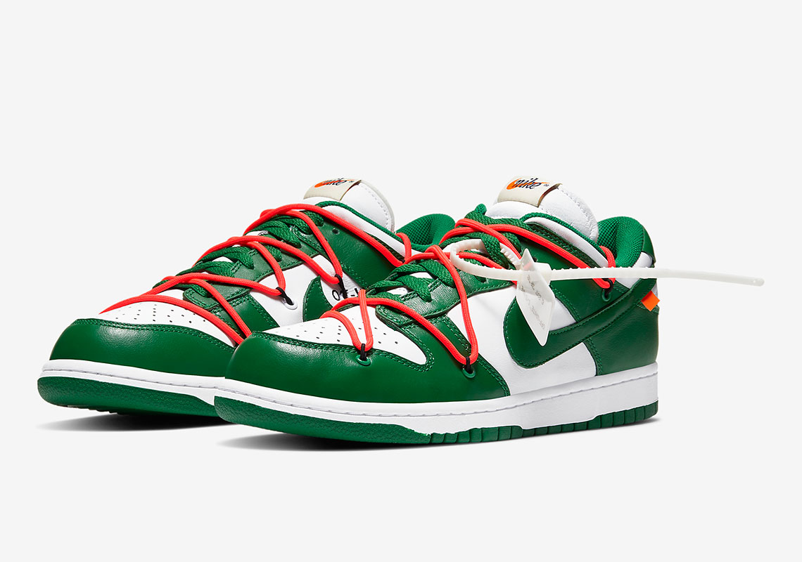Off-White Nike Dunk Release Date