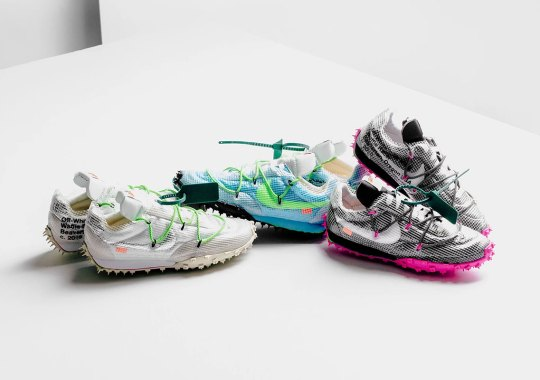 The Off-White x Nike Waffle Racer Releases Tomorrow