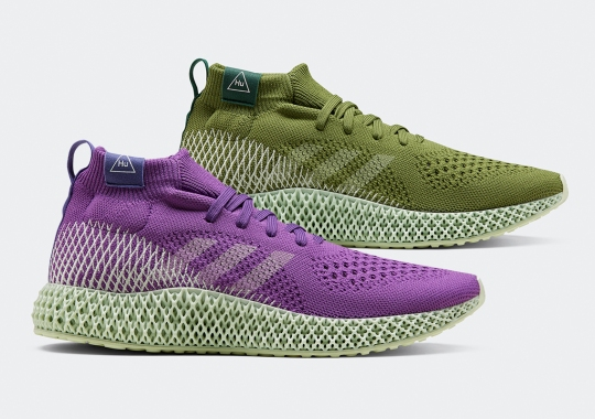 adidas Broadens Futurecraft With The Pharrell Williams 4D