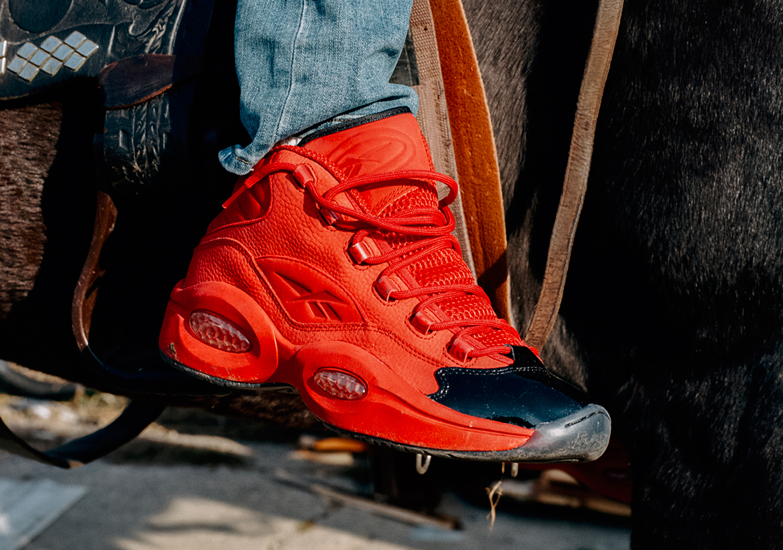 Reebok Question Mid Heart Over Hype