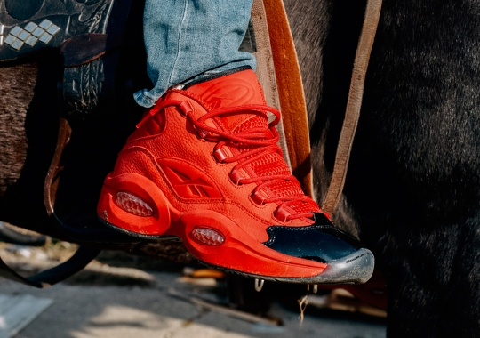 """The Reebok Question Mid """"Heart Over Hype"""" Arrives on December 23rd"""
