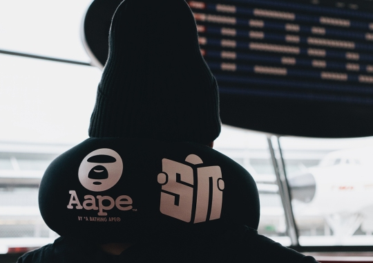Sneaker News x AAPE by *A Bathing Ape® Travel Kit Coming In 2020
