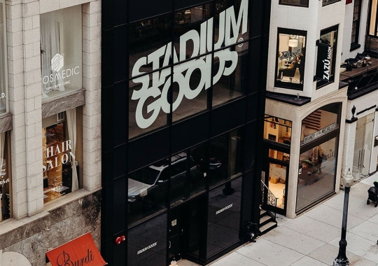 Stadium Goods Announces New Chicago Retail Store Location