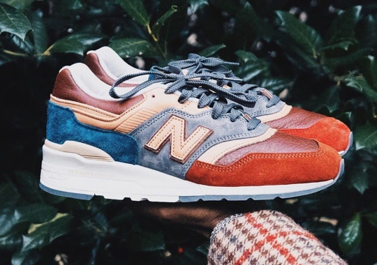 Todd Snyder Nods To The Brick Depot Of The Hudson Train Station For His New Balance 997 Collab