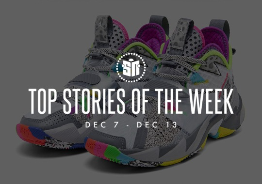Fifteen Can't Miss Sneaker News Headlines from December 7th to December 13th