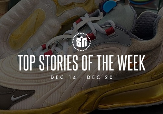 Sixteen Can't Miss Sneaker News Headlines from December 14th to December 20th