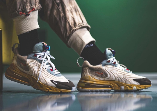 Travis Scott x Nike Air Max 270 React Set To Release In March 2020