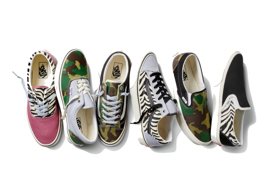 """Vans Nods To Their Early Beginnings With Their Newest """"Mismatch Pack"""""""