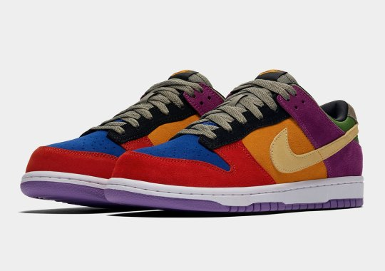 "Official Images Of The Nike Dunk Low ""Viotech"""