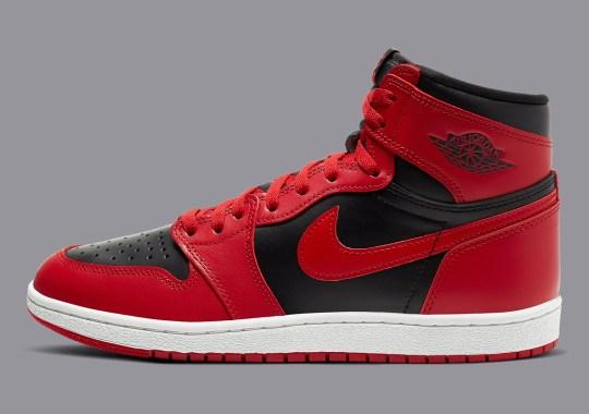 "Official Images Of The Air Jordan 1 Hi '85 ""Varsity Red"""