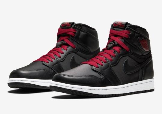"""Where To Buy The Air Jordan 1 Retro High OG """"Black Satin"""""""
