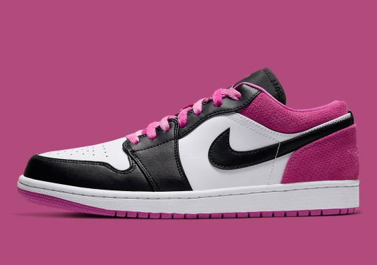 The Air Jordan 1 Low Is Coming Soon With Fuchsia Accents