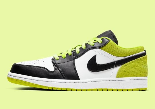 Air Jordan 1 Low Coming Soon With Cyber Green