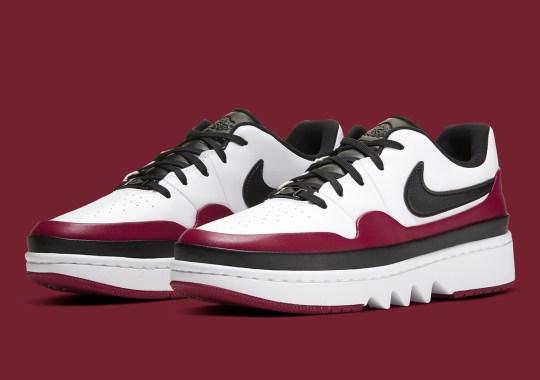 "Jordan Brand's Seasonal ""Noble Red"" Arrives On The Air Jordan 1 Low Jester XX"