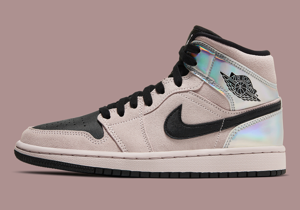 Air Jordan 1 Mid WMNS Iridescent BQ6472-602 | SneakerNews.com