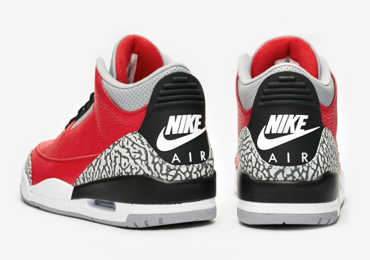 "Detailed Look At The Air Jordan 3 Retro SE ""Fire Red"""