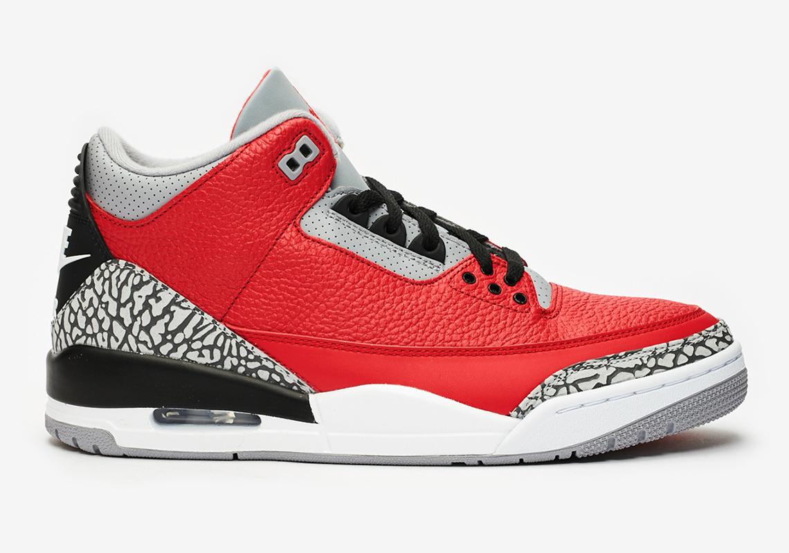 jordan 3 fire red release dates