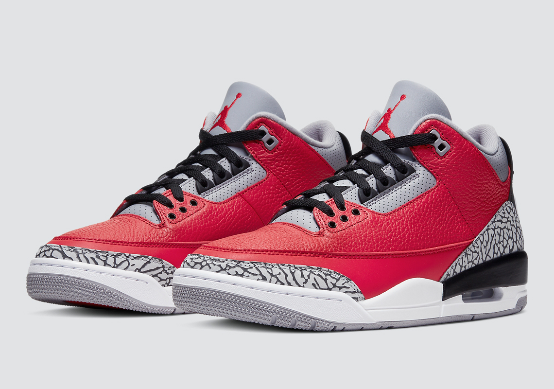 Air Jordan 3 Unite Fire Red CK5692-600 Release Date | SneakerNews.com