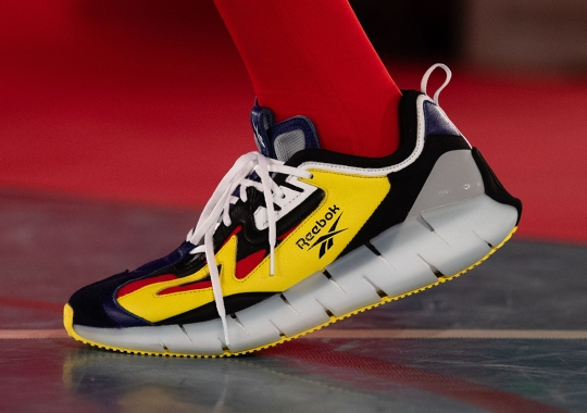 Angus Chiang Debuts Reebok Zig Kinetica Collaborations At Paris Fashion Week