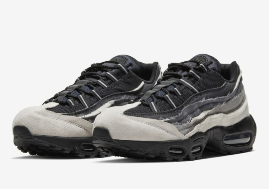 COMME des GARÇONS And Nike Distress The Air Max 95 With Three Monochromatic Colorways