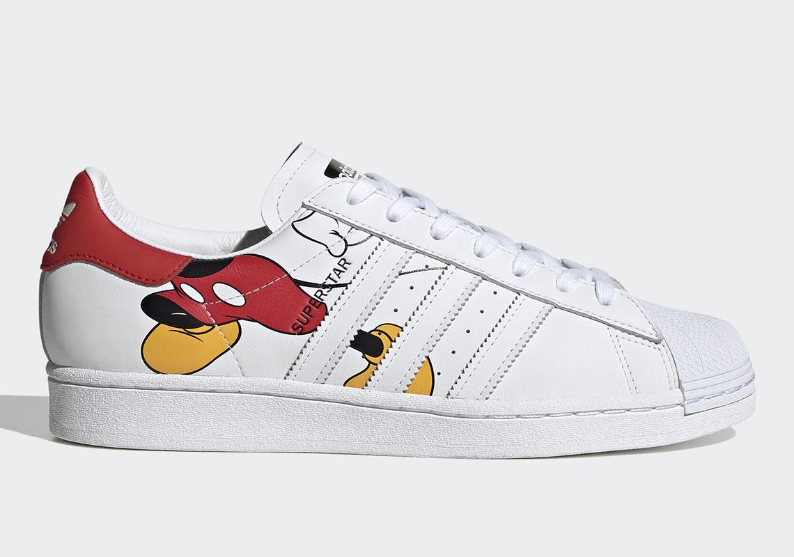 Disney Mickey Mouse adidas Stan Smith FW2911 Release Info