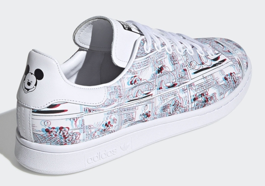 You'll Need 3D-Glasses To See This Upcoming Mickey Mouse x adidas Collaboration