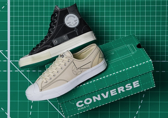 "END Turns The Converse Chuck 70 And Jack Purcell Into Pieces Of Architecture With Their ""Blueprint"" Pack"