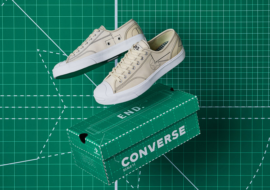END Converse Chuck 70 Jack Purcell Blueprint Release Date
