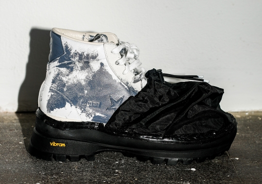 Eastwood Danso Adds Vibram Soles And Nylon Covers To The Converse Pro Leather