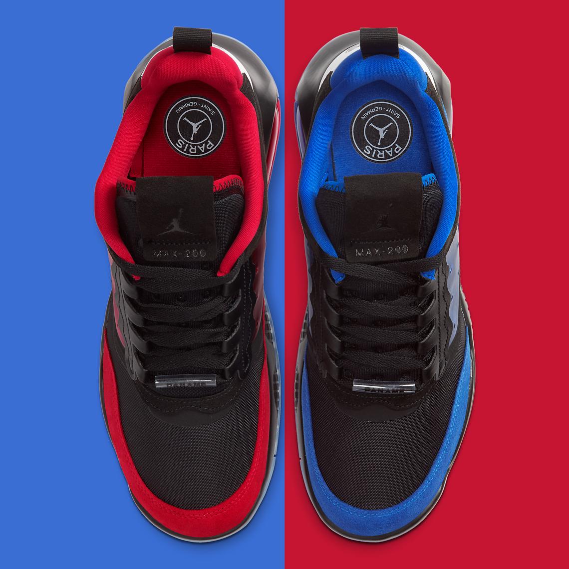 Jordan Air Max 200 PSG Paris CV8452-001 | SneakerNews.com