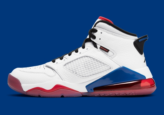 The Jordan Mars 270 Grabs French Flag Colors