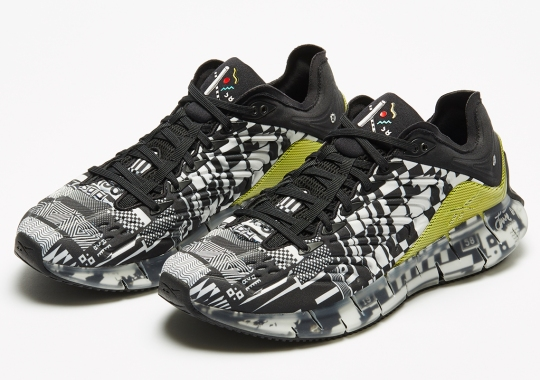Kenzo Minami Turns The Reebok Zig Kinetica Into An Abstract Masterwork