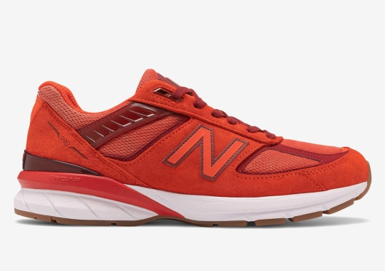 The New Balance 990v5 Appears In Molten Lava